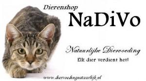 Dierenshop NaDiVo - DE logo met adres
